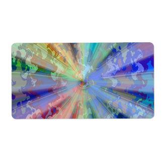 Cosmic Alien Influence : Shine Sparkle Artistic Label