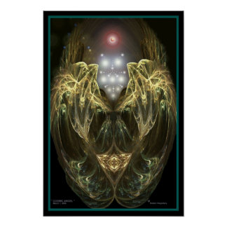 """ COSMIC ANGEL "" by Robert Singletary Posters"