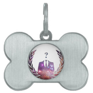 Cosmic Anon Pet Tags