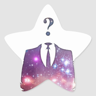 Cosmic Anon Star Sticker