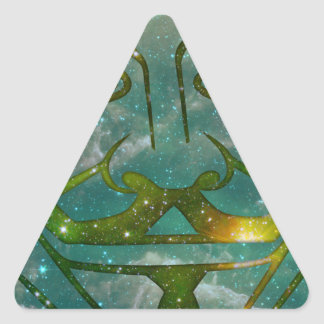 Cosmic Anon Triangle Sticker