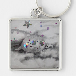Cosmic Armadillo CricketDiane Art Design Keychains