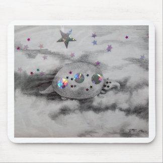 Cosmic Armadillo CricketDiane Art Design Mouse Pads