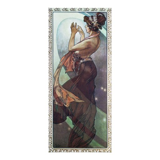 Cosmic Art Nouveau Invites
