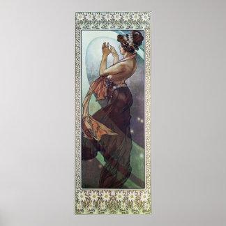 Cosmic Art Nouveau Posters