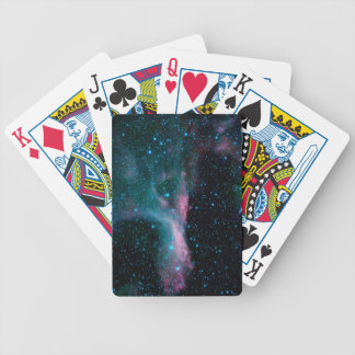 Cosmic Ballerina in space NASA Bicycle Playing Cards