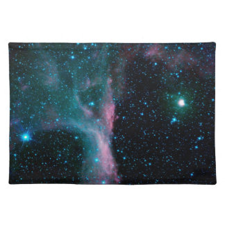 Cosmic Ballerina in space NASA Cloth Placemat