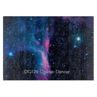 Cosmic Ballerina in space NASA Cutting Board