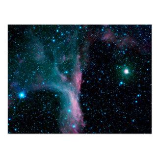 Cosmic Ballerina in space NASA Postcard
