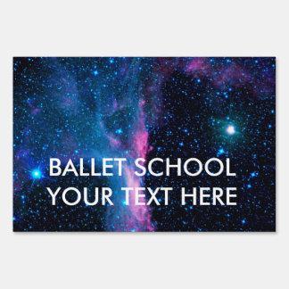 Cosmic Ballerina in space NASA Sign