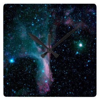 Cosmic Ballerina in space NASA Square Wall Clock