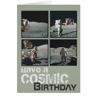 Cosmic Birthday Card