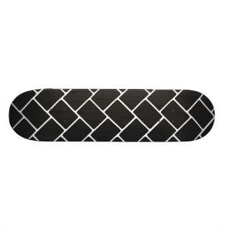 Cosmic Black Basket Weave Skateboard Deck