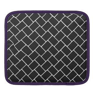 Cosmic Black Basket Weave Sleeve For iPads