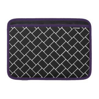 Cosmic Black Basket Weave Sleeves For MacBook Air