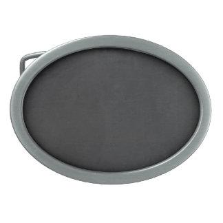 Cosmic Black Magic Oval Belt Buckle