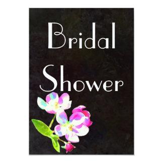 Cosmic Blossoms Bridal Shower invitation