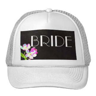 Cosmic Blossoms BRIDE hat