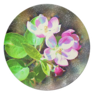 Cosmic Blossoms Dinner Plate