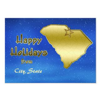 Cosmic Blue Sky South Carolina Custom Invitation