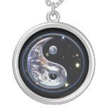 Cosmic Blue Yin Yang Custom Jewelry