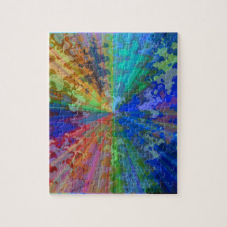 Cosmic Blueray Sparkling Jewels Jigsaw Puzzle