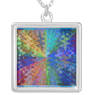 Cosmic Blueray Sparkling Jewels Necklace
