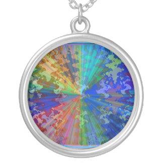 Cosmic Blueray Sparkling Jewels Pendant