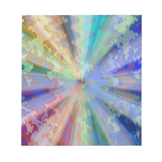 Cosmic Blueray Sparkling Jewels Notepads