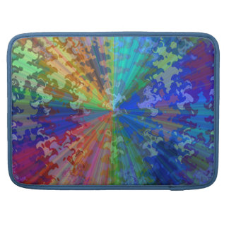 Cosmic Blueray Sparkling Jewels Sleeves For MacBooks