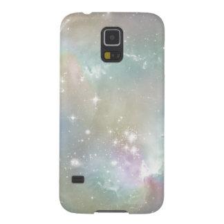 Cosmic Blues Pastel Space Art Galaxy S5 Case