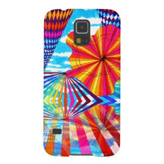 Cosmic Bright Geometric Kaleidoscope Rainbow Art Galaxy Nexus Cover
