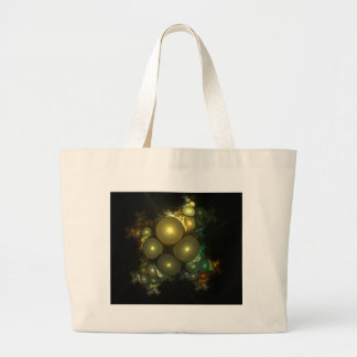 Cosmic Bubbles Abstract Fractal Design Bags