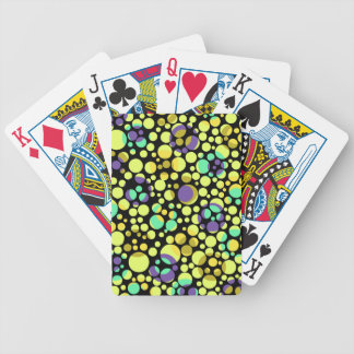Cosmic Bubbles Bicycle Playing Cards