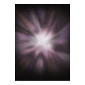 Cosmic Burst Artwork 5x7 Paper Invitation Card