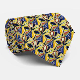 Cosmic butterflies neck tie