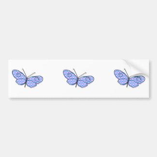 Cosmic Butterfly Bumper Sticker