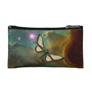 Cosmic Butterfly Cosmetic Bag