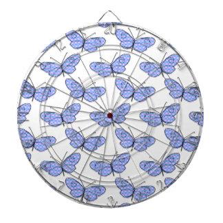 Cosmic Butterfly Pattern Dart Boards