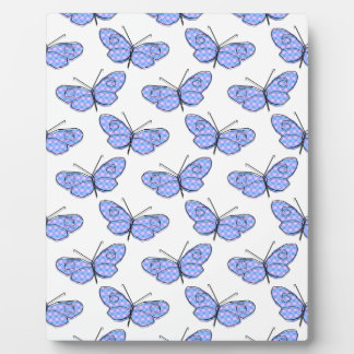 Cosmic Butterfly Pattern Display Plaques