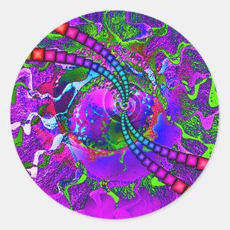 Cosmic Candy ! Classic Round Sticker