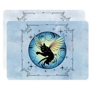 Cosmic Cat Moon Card