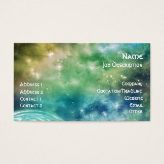 Cosmic Chaos Business Card