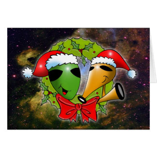 Cosmic Christmas by Gregory Gallo Cards