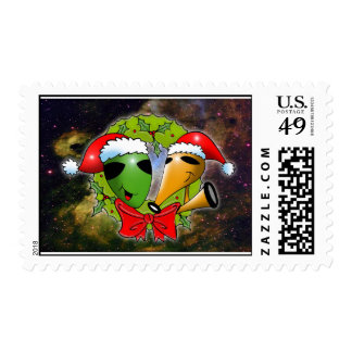 Cosmic Christmas by Gregory Gallo Postage