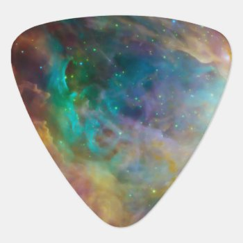 Cosmic Cloud2 Custom Guitar Pick by reflections06 at Zazzle