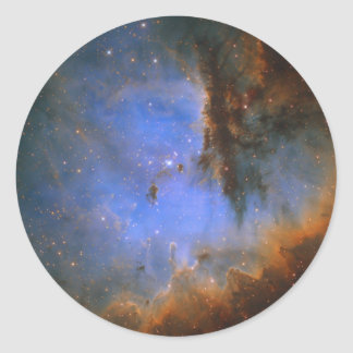 Cosmic Cloud NGC 281 Classic Round Sticker