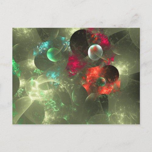 Cosmic Clutter Fractal postcard