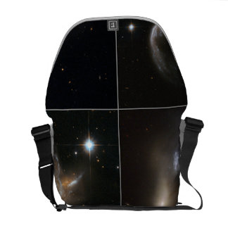 Cosmic Collisions Galore! Courier Bags