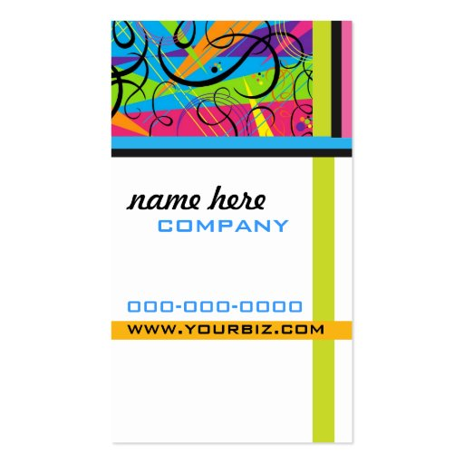Cosmic Colors Business Card